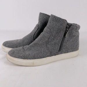 Kennith Cole New York Keenan Textile Zipper Boot